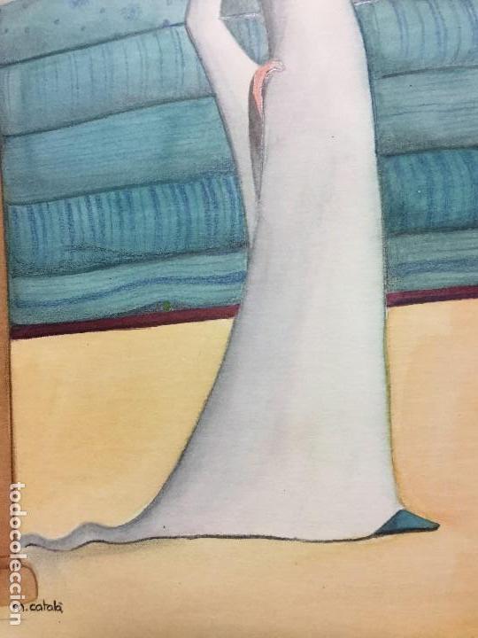 Arte: Ilustración original de Mireia Catala para Enciclopedia Infantil, firmada y catalogada - Foto 2 - 108013803