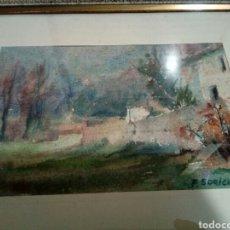 Arte: CUADRO DE FLOREAL SORIGUERA. Lote 108437847