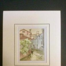 Arte: ACUARELA VENECIA. MOD. 5. CALLE.. Lote 108790567