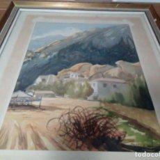 Arte: BONITA ACUARELA FIRMADA VICENT. Lote 109366911