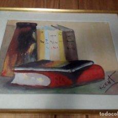 Arte: ACUARELA FIRMADA VICENT. Lote 109366987