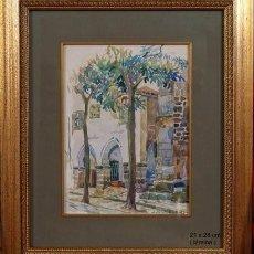 Arte: ACUARELA DE JOSÉ SEIJO RUBIO. Lote 109396539