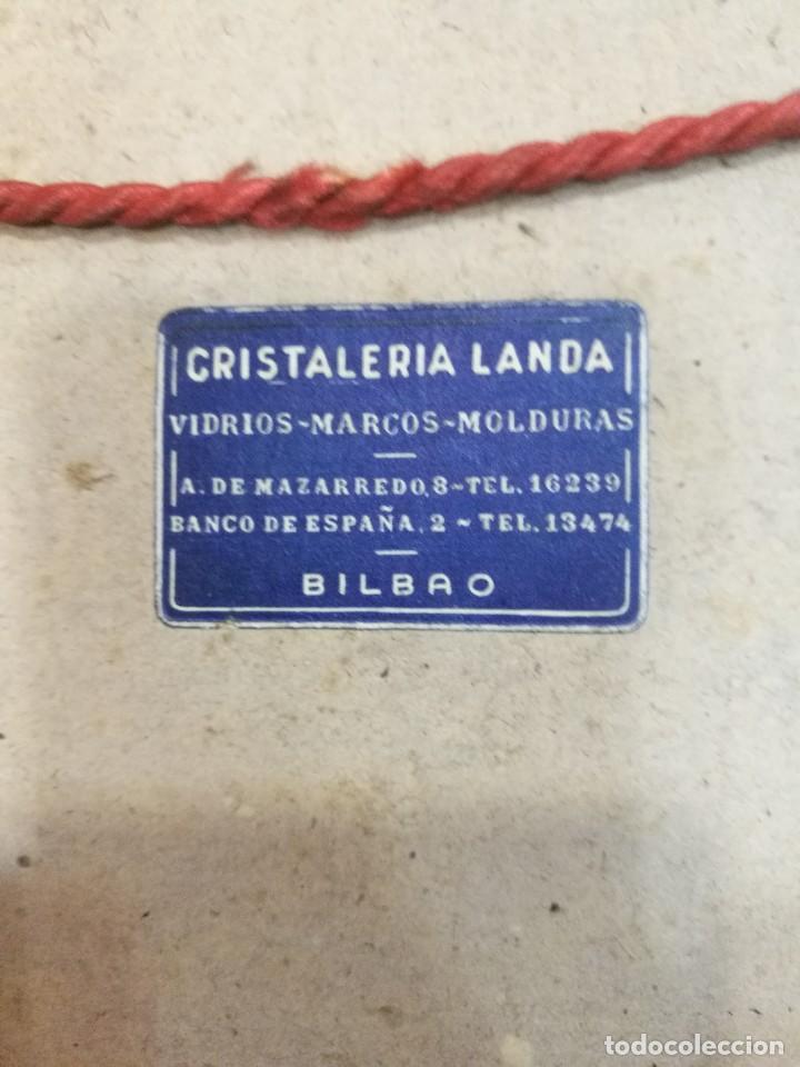 Arte: Acuarela firmada B.de Ibarra.bodegon de frutas.epoca mediados del siglo xx - Foto 12 - 109481139