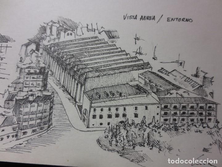 Arte: PLANOS MUSEO ARTE ROMANO MERIDA DIBUJO FIRMA LEIVA FACHADA ANTIGUO ORIGINAL PLUMILLA - Foto 2 - 110117515
