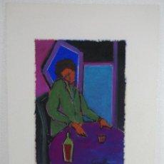 Arte: GOUACHE Y PASTEL JOAN CUNILLERA . Lote 110278371
