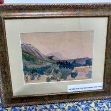 Arte: RARÍSIMA ACUARELA DE JACOBO SUREDA MONTANER (1901-1935) PINTOR Y POETA DE MALLORCA. Lote 110716539