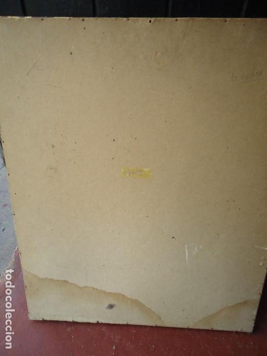 Arte: años 50 acuarela firmada mide 61 x 51cm ORIGINAL - Foto 8 - 111023979