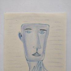Kunst - Interesante retrato, firma ilegible, años 30-40? - 112323819