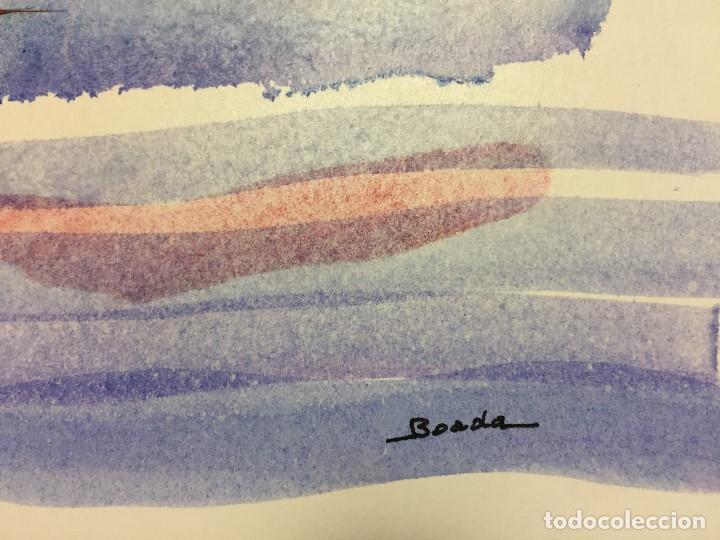 Arte: Dibujo original de Boada para ilustrar la Enciclopedia Infantil, de 10 tomos de Editorial Carroggio - Foto 3 - 112342135