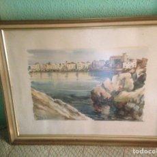 Arte: ACUARELA ORIGINAL DE JOAN FUSTER GIMPERA. Lote 112528896
