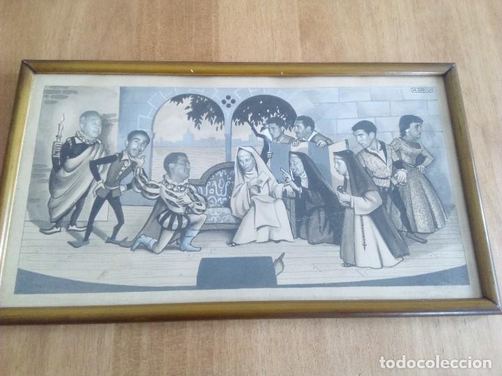 PRECIOSA ACUARELA (Arte - Acuarelas - Modernas siglo XIX)