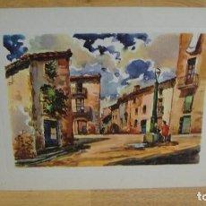 Arte: LAMINA EN ACUARELA - J,ARNAU. Lote 113839095