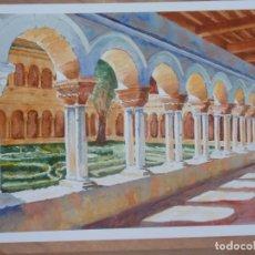 Arte: CLAUSTRO (ACUARELA, PAPEL 40X28) . Lote 114331527