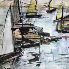 Arte: AMADEU CASALS (1930-2010). Lote 114419575