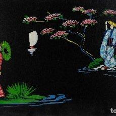 Arte: GOUACHE SOBRE PAPEL ESCENA ORIENTAL SIGLO XX. Lote 114647159