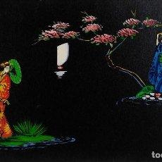 Arte: GOUACHE SOBRE PAPEL ESCENA ORIENTAL SIGLO XX. Lote 114647811