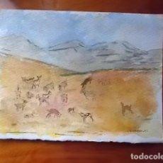 Arte: INTERESANTE ACUARELA DE CASAMAYOR OBRA ORIGINAL . Lote 114932495