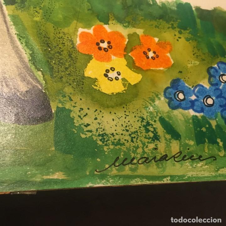 Arte: Maria Rius Camps, firmado y catalogado, gran formato 45x50 cms - Foto 5 - 115024211