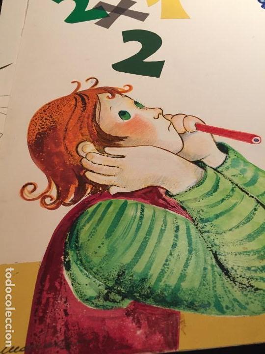 Arte: original de Maria Rius Camps, para ilustrar Enciclopedia Infantil, gran formato - Foto 2 - 115504363