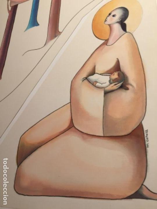 MIREIA CATALA, ORIGINAL FIRMADA Y CATALOGADA (Arte - Acuarelas - Contemporáneas siglo XX)