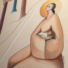 Arte: MIREIA CATALA, ORIGINAL FIRMADA Y CATALOGADA. Lote 115561543
