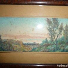 Arte: LAMBERT ESCALER MILÁ. ESCULTOR BARCELONES,1874, 2ª MEDALLA MADRID 1903, 170X76MM. Lote 151178350