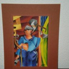 Arte: OBRA DE XAVIER CLARES - ORIGINAL - 1998 - VER FOTOS DETALLES. Lote 116862059