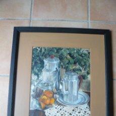 Arte: ACUARELA -BODEGÓN -FIRMADO TERESA MAS. Lote 117837367