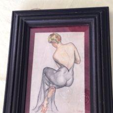 Arte: ACUARELA ( FIGURA DE MUJER ) RAFAEL PENAGOS. Lote 119535360