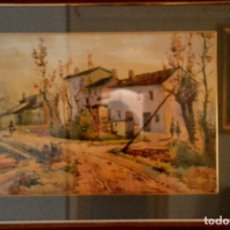 Arte: ACUARELA DE RAMON MIRALLES BOSCA. Lote 119569043