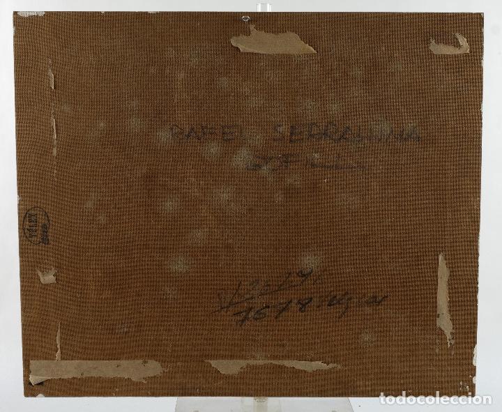 Arte: Rafel Serrahima Gouache sobre táblex Paisaje tercer tercio siglo XX - Foto 11 - 119697295