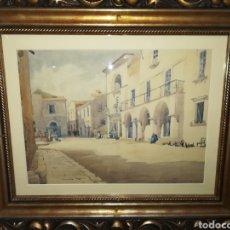 Arte: ACUARELA FIRMADA AÑO 1907. Lote 119991203