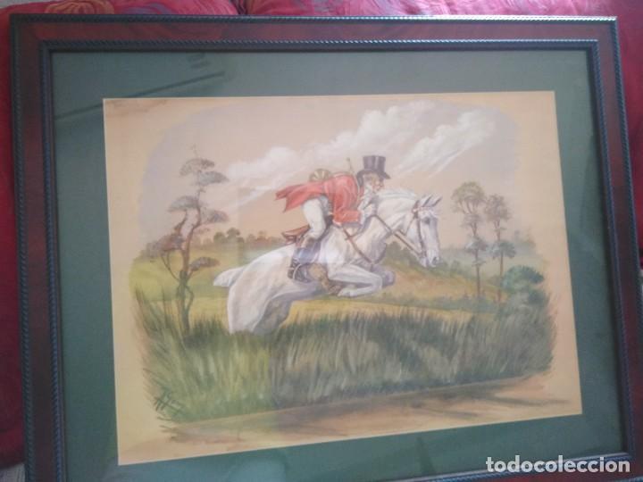 Arte: ACUARELA FIRMADA POR A. GONY. 55.5 X 69 CM. - Foto 2 - 120110499