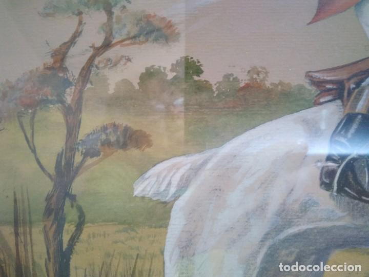 Arte: ACUARELA FIRMADA POR A. GONY. 55.5 X 69 CM. - Foto 5 - 120110499