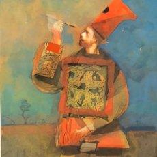 Arte: ACUARELA SOBRE PAPEL - 1993 - MIGUEL CONDE - FIRMADA. Lote 120168695