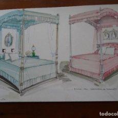Arte: DECORACIÓN MARQUESA DE TAMARIT, 50 X 30 CM APROX. Lote 120229779
