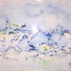 Arte: TINTA SOBRE PAPEL P. BONJOCH 1980. Lote 120236279