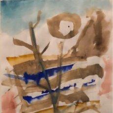 Arte: ACUARELA SOBRE PAPEL - PERICO PASTOR - FIRMADA. Lote 120528431
