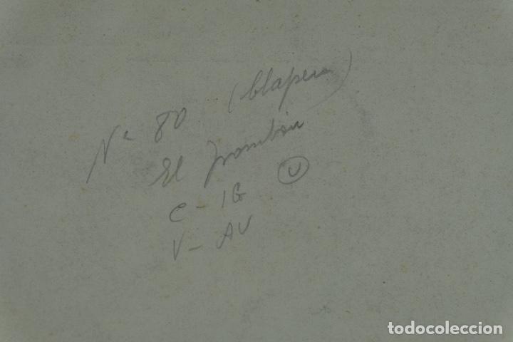 Arte: Acuarela sobre papel Composición firma ilegible segunda mitad siglo XX - Foto 7 - 120564271
