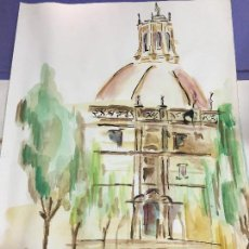 Arte: PINTURA ACUARELA - MEDIDA 42X30 CM. Lote 120839063