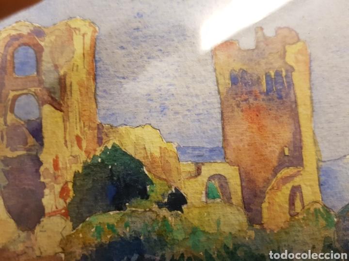 Arte: FELIX DEBRY, FIRMADA Y FECHADA EN 1927, PEQUEÑA ACUARELA DE GRAN CALIDAD. 22X14CM - Foto 3 - 120923091