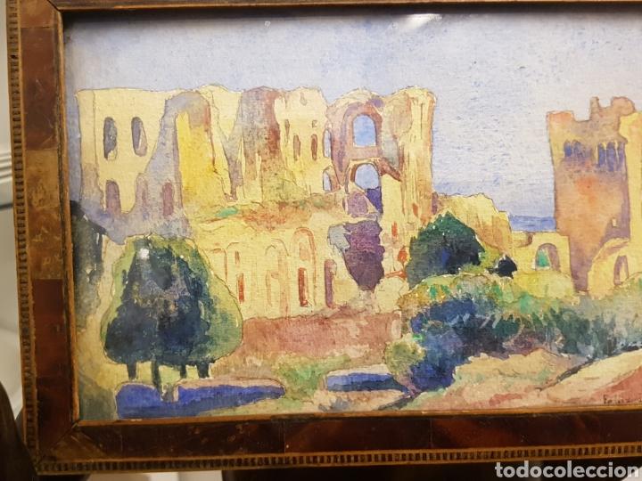 Arte: FELIX DEBRY, FIRMADA Y FECHADA EN 1927, PEQUEÑA ACUARELA DE GRAN CALIDAD. 22X14CM - Foto 6 - 120923091
