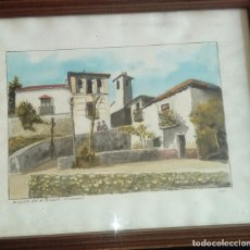 Arte: RINCON DEL ALBAIZIN RODRIGUEZ PESCADOR ACUARELA. Lote 121969799