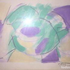 Arte: XOTI DE LUIS - CERAS MIXTA SOBRE PAPEL. Lote 122024483