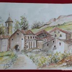 Arte: ACUARELA FIRMADA LUIS TODOLÍ. Lote 122576223