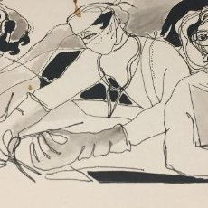 Arte: CIRUJIA. BOADA, PEDRO, ILUSTRACIÓN ORIGINAL 1972. Lote 123357571