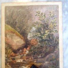 Arte: ACUARELA ORIGINAL CLEMENTINA SMYTH. FINALES 1800.. Lote 123357939