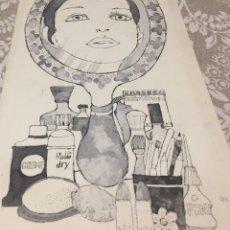 Arte: BOADA, PEDRO, ILUSTRACIÓN ORIGINAL 1972. Lote 123358323