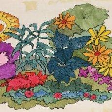 Arte: BOADA, PEDRO, ILUSTRACIÓN ORIGINAL 1972. Lote 123358631