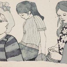 Arte: BOADA, PEDRO, ILUSTRACIÓN ORIGINAL 1972. Lote 123359487
